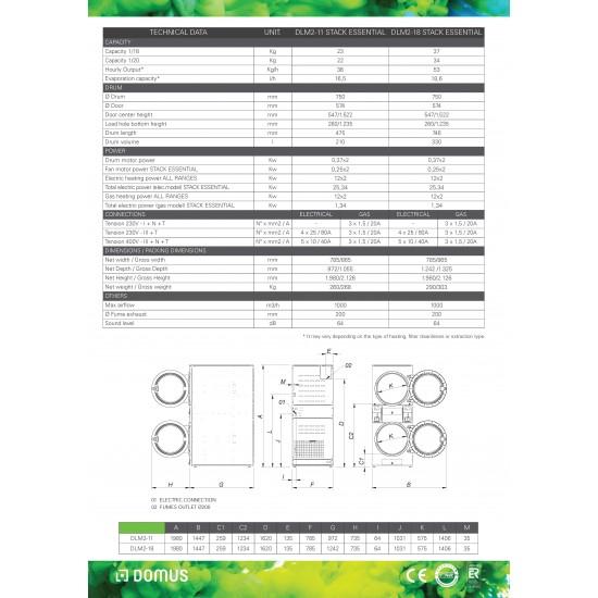 Сушилни DLM-2-18 ESSENTIAL