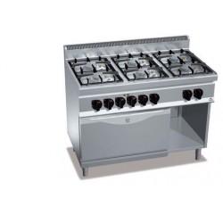 Готварска печка G7F6PW+FE